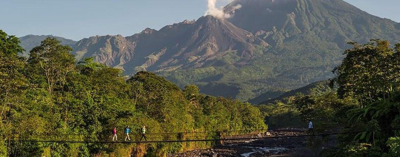 volcano in Central America
