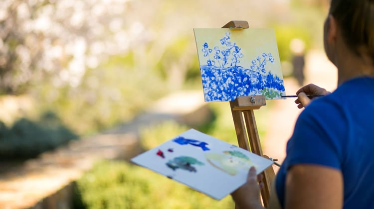painting on holiday retreat to Rancho La Puerta