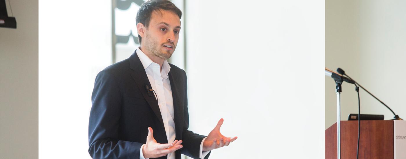Social entrepreneur David Helene.