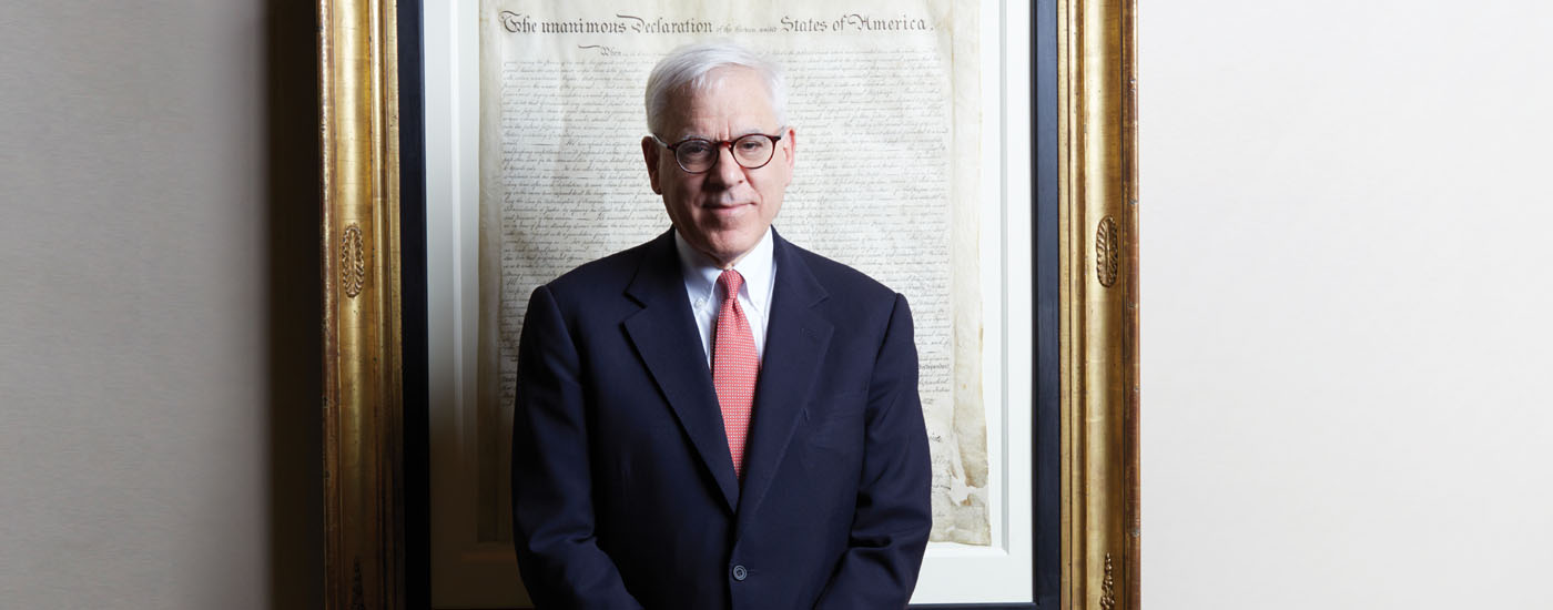 David M. Rubenstein is co-executive chairman of The Caryle Group.